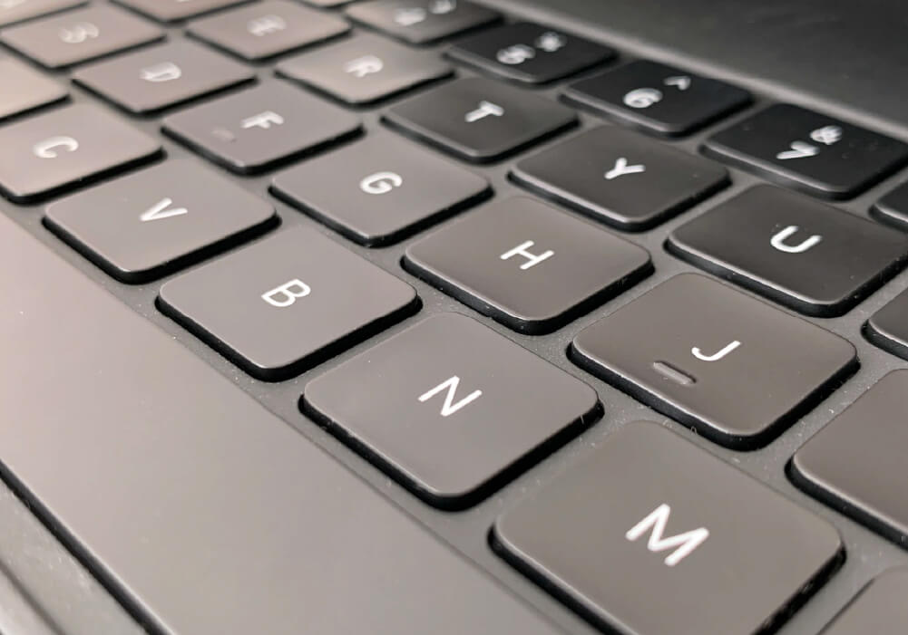 Magic Keyboard キータッチ